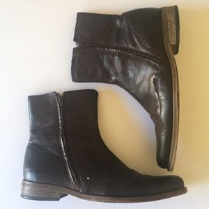 Men's Ted Baker leather boots size 12